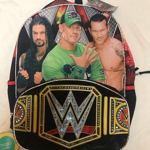 WWE backpack NWT